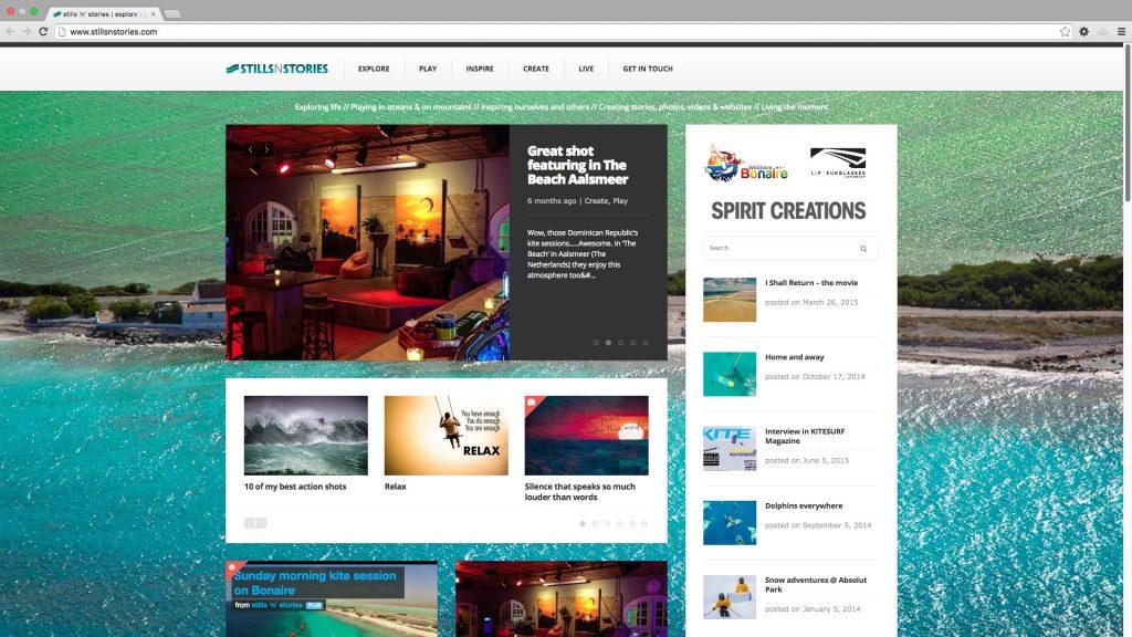 Website Stills N Stories